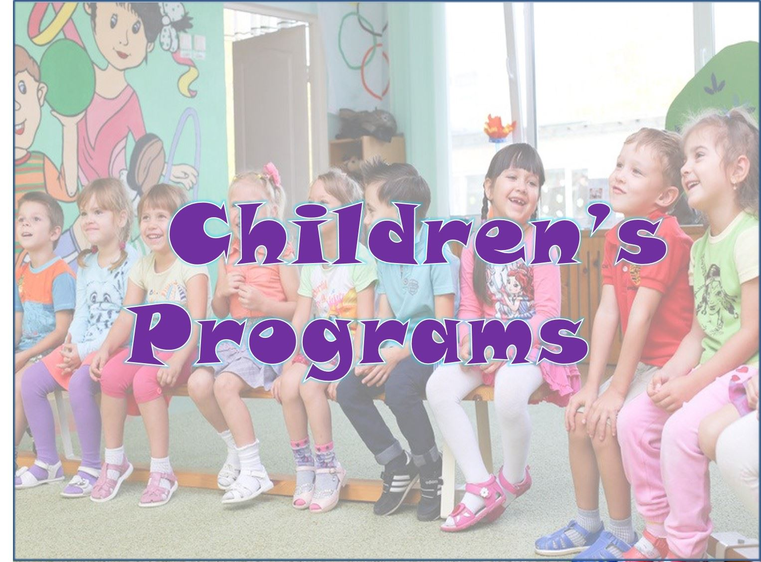Childrens Programs block