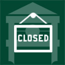 closed dark green